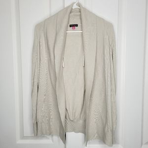 VINCE CAMUTO Dolman Sweater Open Cardigan